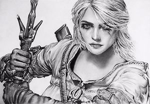 Ciri from The Witcher