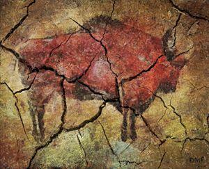 Bison -cave art