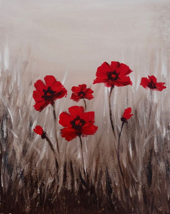 Poppies - Elitsa's paintings