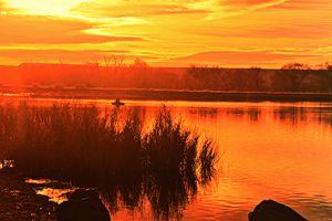 Becker Lake Sunrise