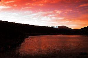 Sunrise on Nelson