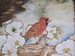 The Cardinal - EC Pyro Art