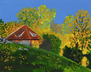 Autumn tints in Lithuania - Anton's art from the heart