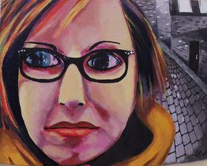 Roxanne, Acrylic Painting