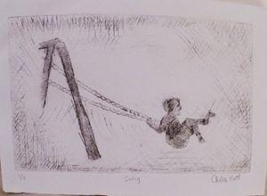 Swing: 1 of 3, Etching