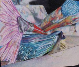 Watercolor Brushes, Original Colored