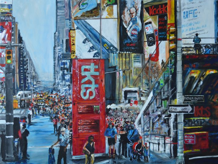 Times Square - George Sielski