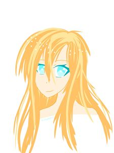 Simple Ginger Anime Girl