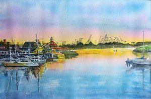 Sunset at Shoreline Village