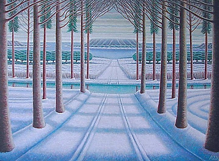 Alley winter 2 - Dragan Azdejkovic