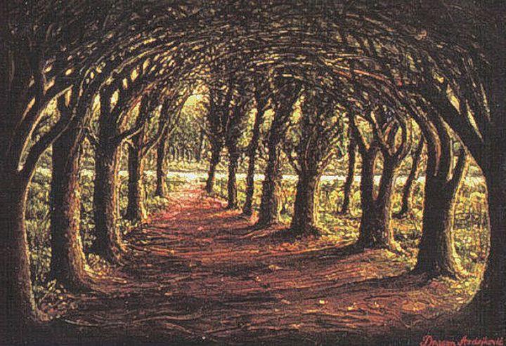 The forest road - Dragan Azdejkovic