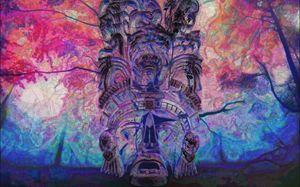 Mayan Dreams Large Format