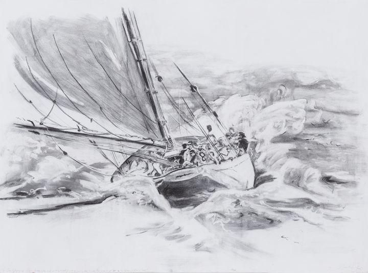 Dancing on the waves - Jonathan Patrick Art