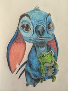 Stitch and Friend
