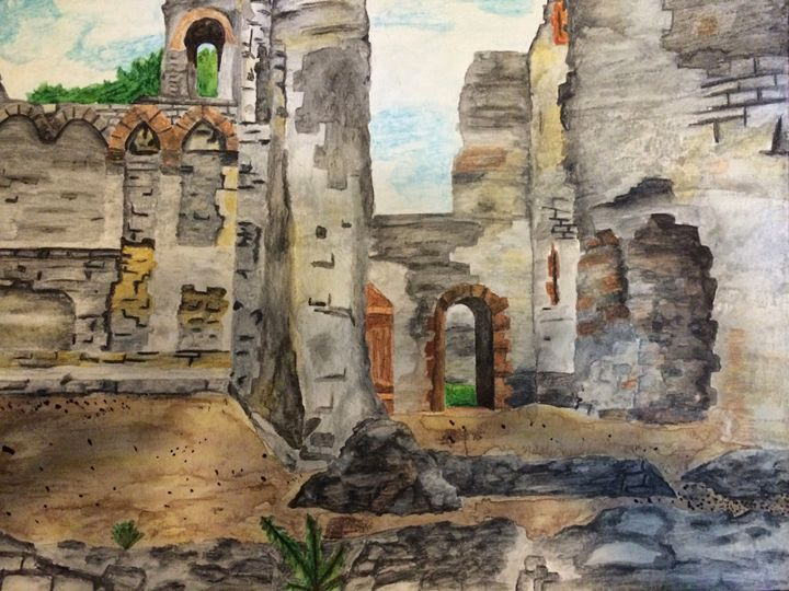 Castle Ruins - Fabartistry