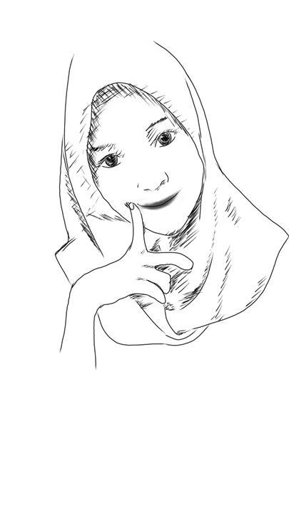 Muslim smiley - AndraArt