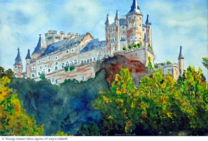 Alcazzar Summer Palace - Gary R. Caldwell   CADesign, Art & Photos