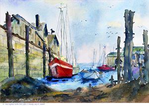 New England Harbor - Gary R. Caldwell | CADesign, Art & Photos