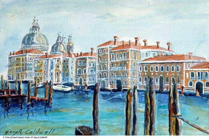 View of Grand Canal, Venice #01 - Gary R. Caldwell   CADesign, Art & Photos