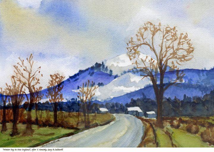 Winter Day in New England - Gary R. Caldwell   CADesign, Art & Photos