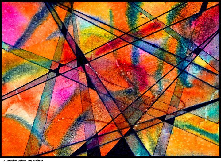 Digital-Particles in Collision - Gary R. Caldwell | CADesign, Art & Photos