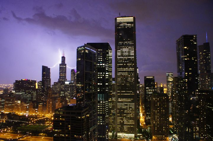 CityStorm One In Lavender - Gregory Patrick Lafferty