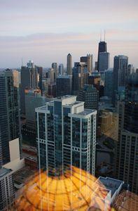 Cityscape In Pastel