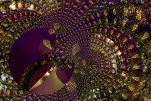 Metallic Purple Mesh