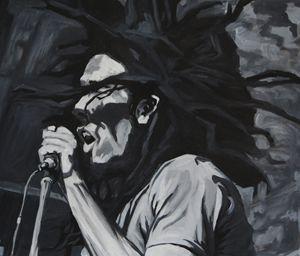 Bob Marley sing