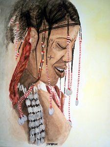 Janjubi Tribal Indian