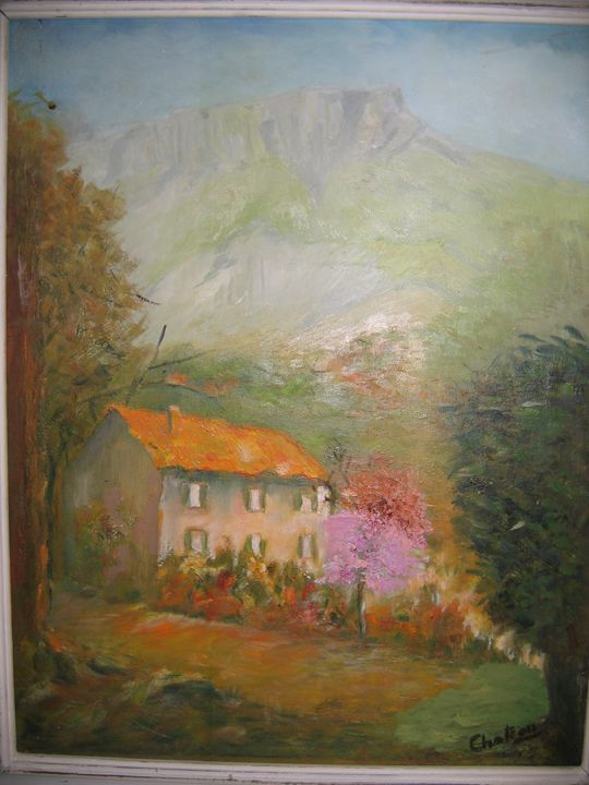 Provencal  Landscape - FOURGEAUD  FRENCH