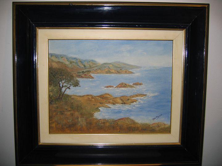 Mediterranean landscape - FOURGEAUD  FRENCH