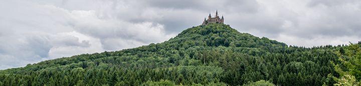 Enchanted Black Forest Castle - Vertical Horizontal Photography