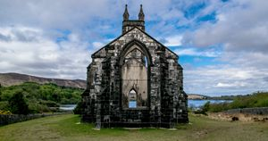 Church Ruins in Donegal - Vertical Horizontal Photography