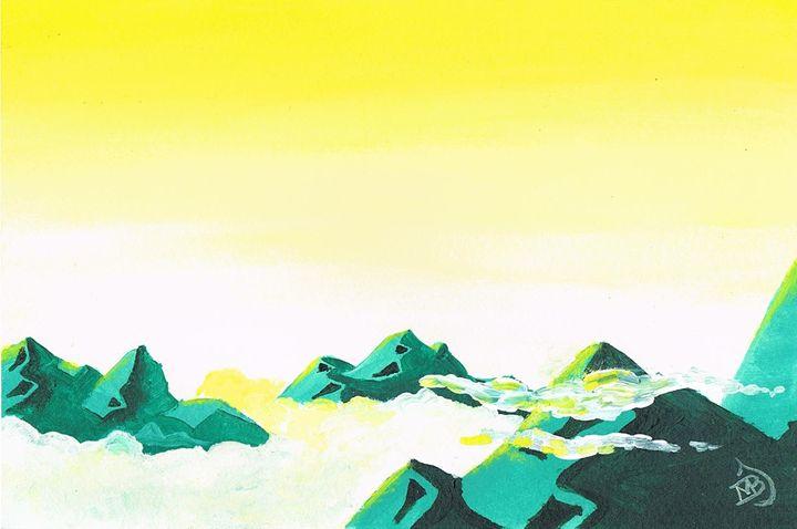 Green Mountains - mbj-designs