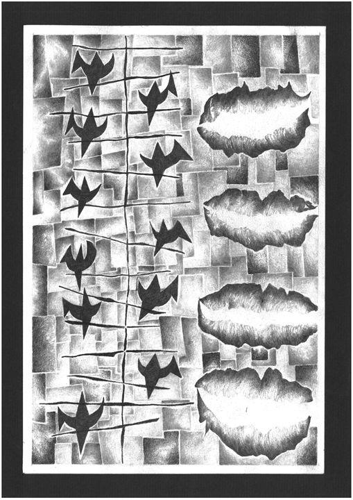 Stimulus Molecules 3. - Chatting - Yockheer Art Gallery