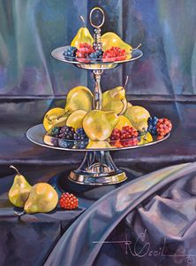 THE SILVER FRUIT TRAY