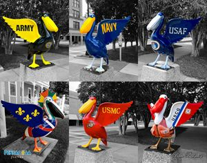 Pensacola Pelicans Military Collage