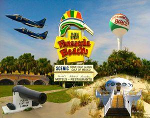 Pensacola Beach Collage
