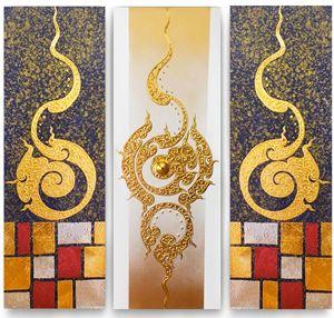 Classic Thai Art Painting