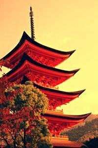 Five-storey pagoda in Miyajima