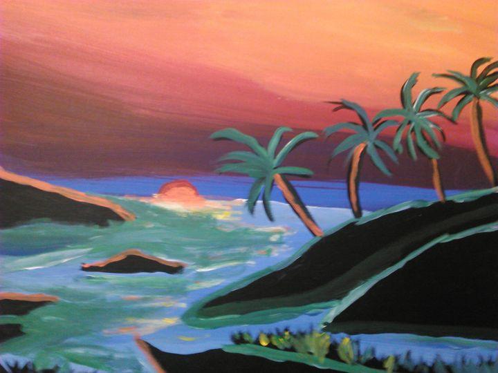 peaceful beach - Tracy Garlanger