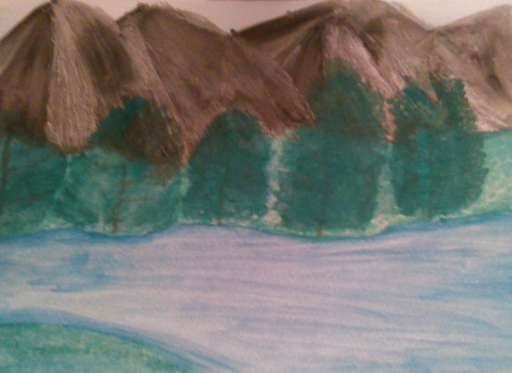 beautiful mountains - Tracy Garlanger