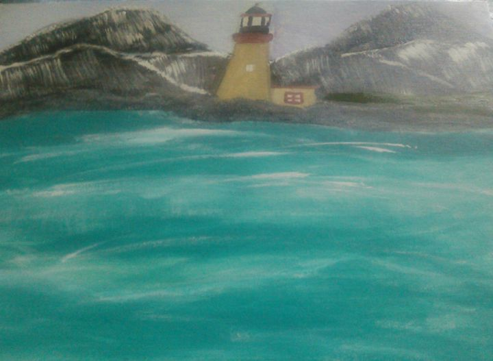 mountain and the lighthouse - Tracy Garlanger