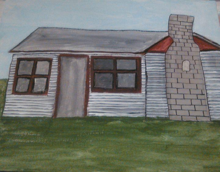 log cabin - Tracy Garlanger