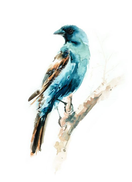 Bird art inspiration & decor No.24 - Oriental Art Studio