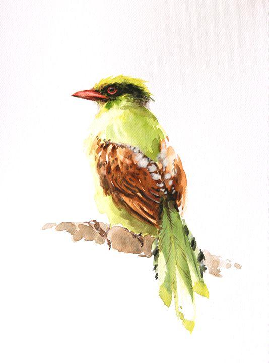 Bird art inspiration & decor No.27 - Oriental Art Studio