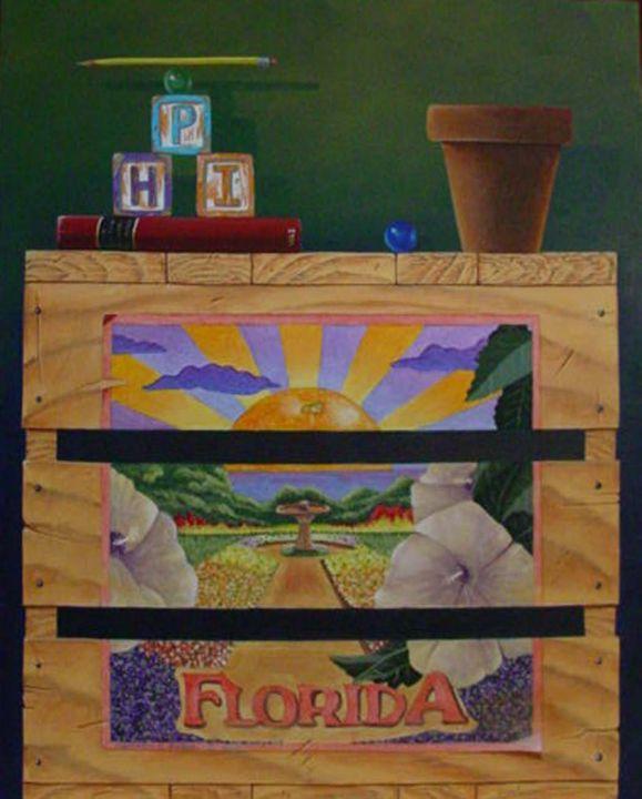 """PHI"" acrylic on canvas - Matthew K Moran"