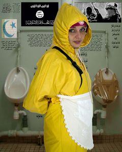 rubber toilet whore
