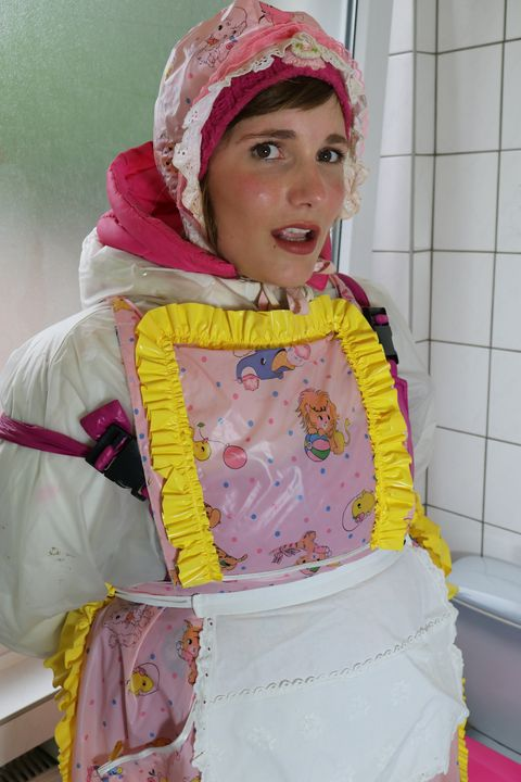 maid karcila - maids in plastic clothes